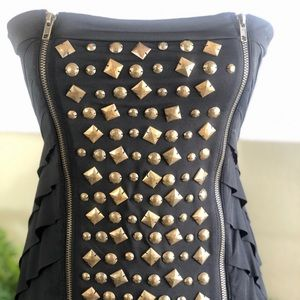 Ark & Co. Strapless Mini Dress with Studs